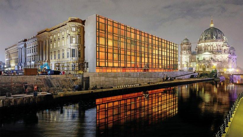 Projection Palast der Republik