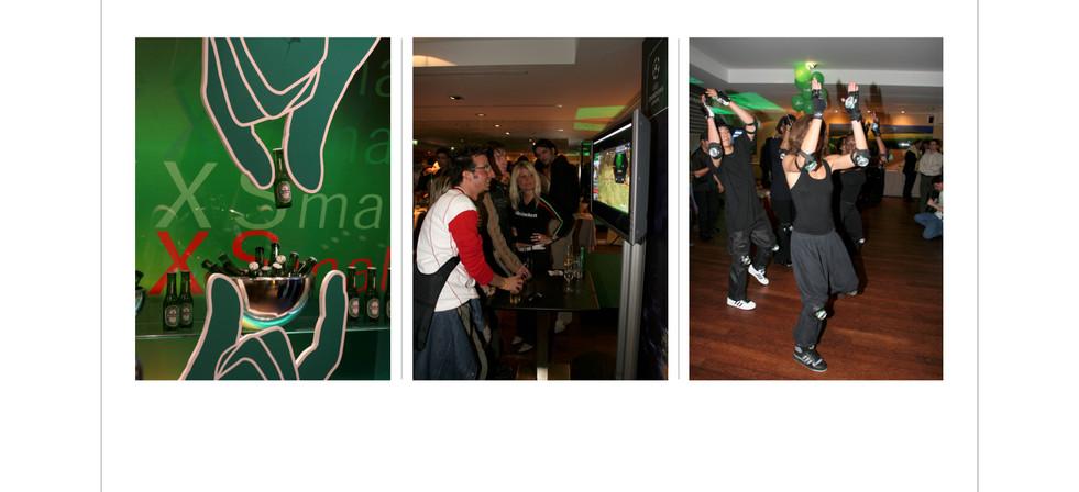 Evening Party in the Heineken House