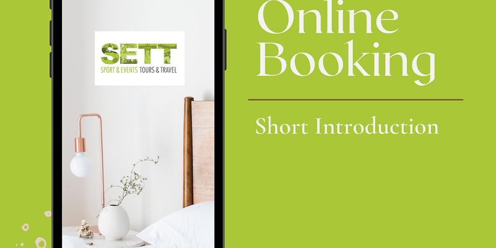 B2B Online Introduction of SETT Booking Platform