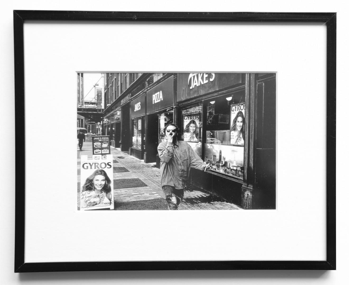 8X10 black frame 5X7 photo 5X7 white mat