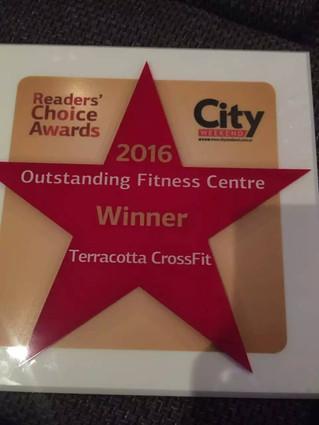 Terracotta CrossFit Award...