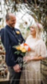 Intimate botanical gardens wedding