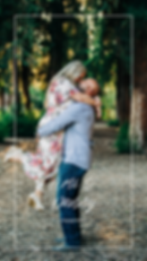Rustic, woodsy, outdoor, redwoods Engagement Session