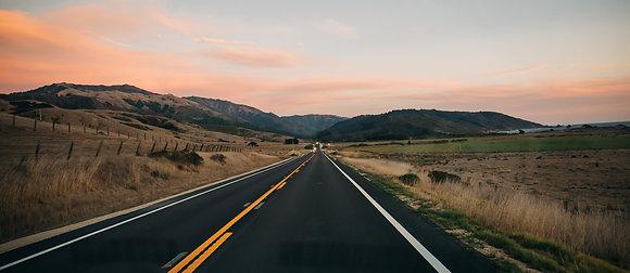 """Pacific Coast Highway,"" California"