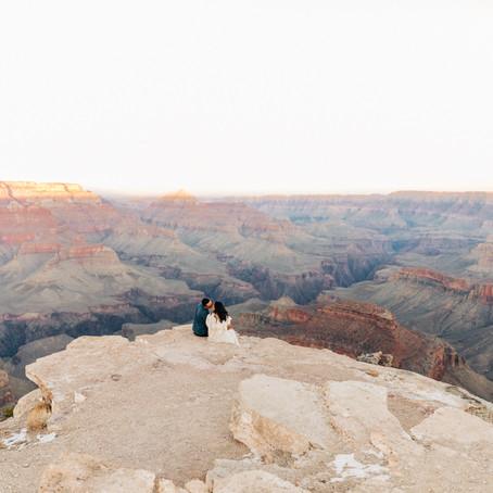 Tony + Kasey, Grand Canyon Engagement by Lana Tavares, 222 Photography