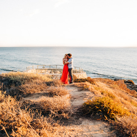 Matthew + Laura, Coastal Views Engagement Session -- by Lana Tavares, 222 Photography