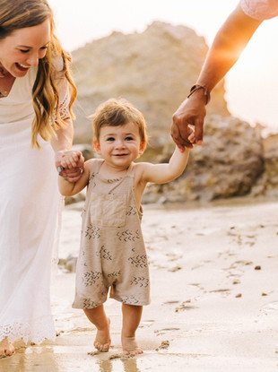 Little L's First Trip to California, Family Portraits at the Beach by Lana Tavares, 222 Photography.