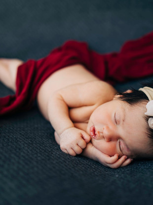 Leilani, Orange County Newborn Session