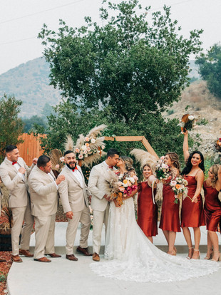 Andrea + Andrew's Wedding at Reptacular Ranch, by Lana Tavares