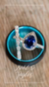 ring details, ringshot, backyard diy wedding