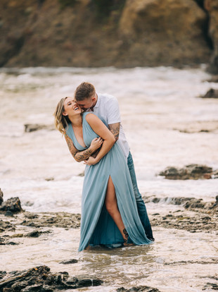From Reno to Laguna, Megan + Tristan's Engagement Adventure--by Lana Tavares