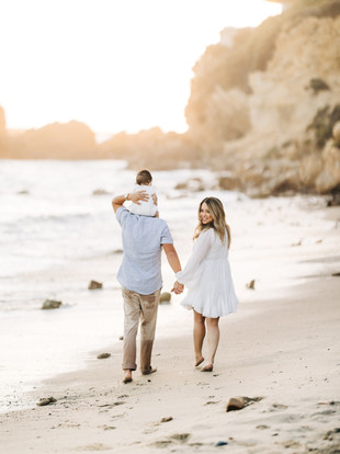 The Nguyens Visit California--Sunset Beach Family Portraits by Lana Tavares, 222 Photography