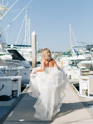 Michelle + Eric, Intimate Boat Wedding in San Diego Marina by Lana Tavares