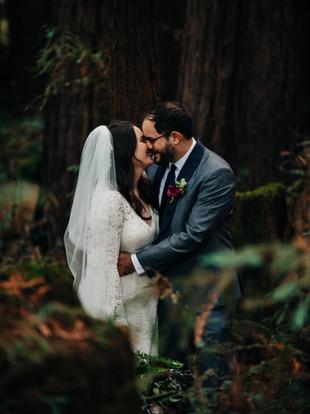 Miranda + Davis, Intimate Redwoods Micro-Wedding, by Lana Tavares