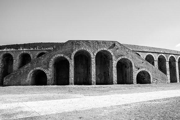 """Amphitheater."" Pompeii, Italy"