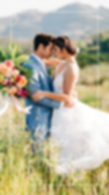 intimate, temecula tropical wedding