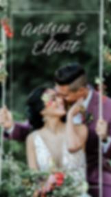 romantic rustic lake arrowhead wedding
