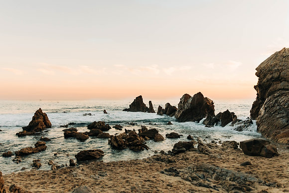 """""""Rocky Shores,"""" California"""