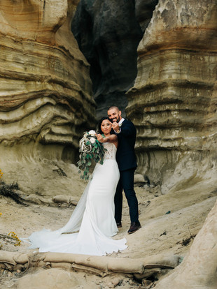 Max + Jade, Intimate Backyard Wedding in San Clemente, by Lana Tavares, 222 Photography