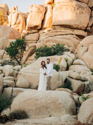 Kim + Jeremy's Maternity Session in Joshua Tree, by Lana Tavares, 222 Photography