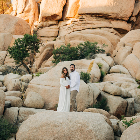 Kim + Jeremy's Maternity Session in Joshua Tree, by Lana Tavares, 222 Photography