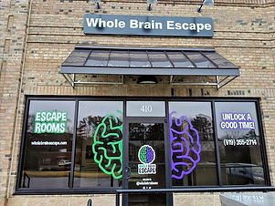 Whole Brain Escape Rooms, Apex's first escape room