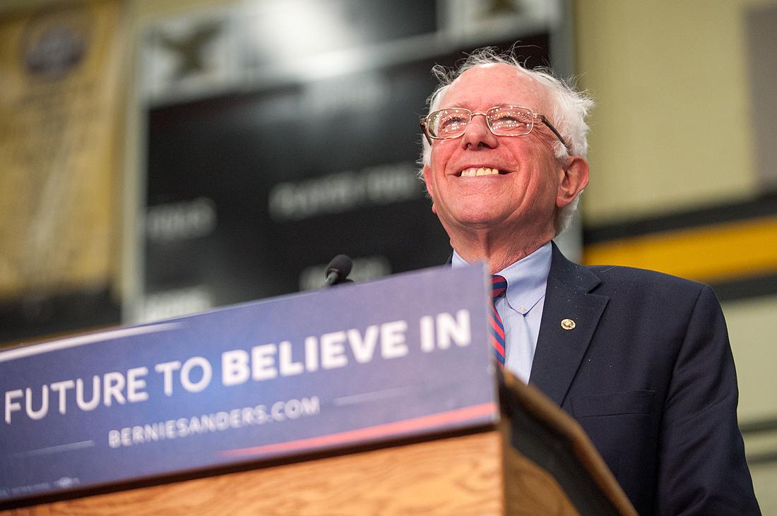 Bernie Sanders in Vancouver WA.