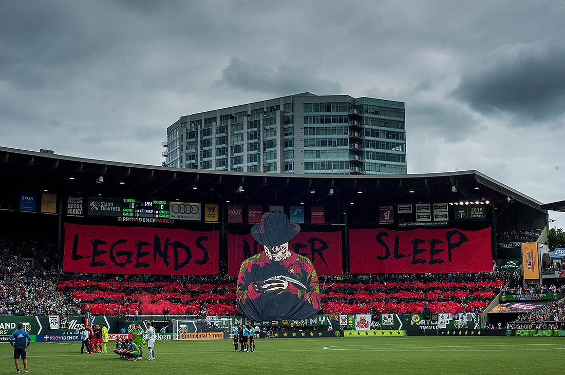 """Legends Never Sleep"""