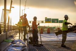 Morrison Bridge Construction