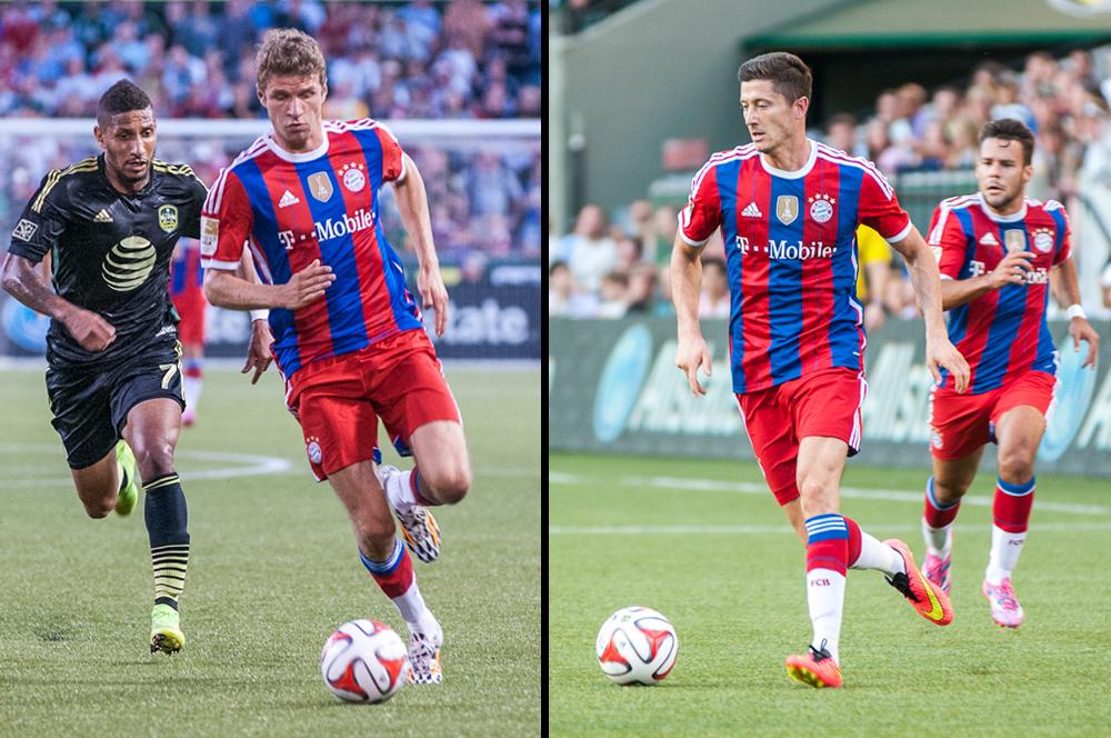 2014 MLS All Star vs. Bayern Munich