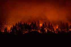 Wildfires at the Gorge
