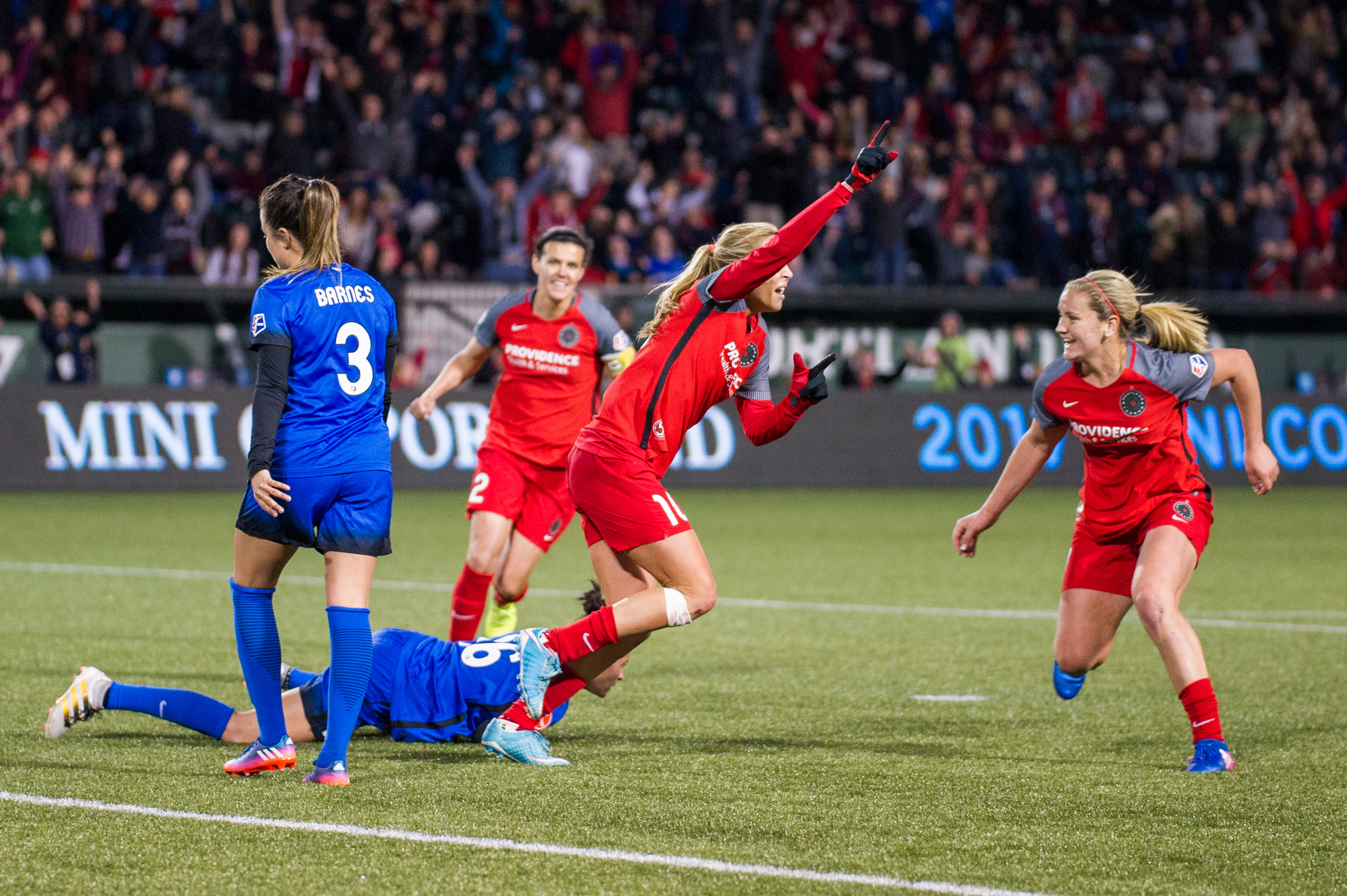 Goal by Allie Long