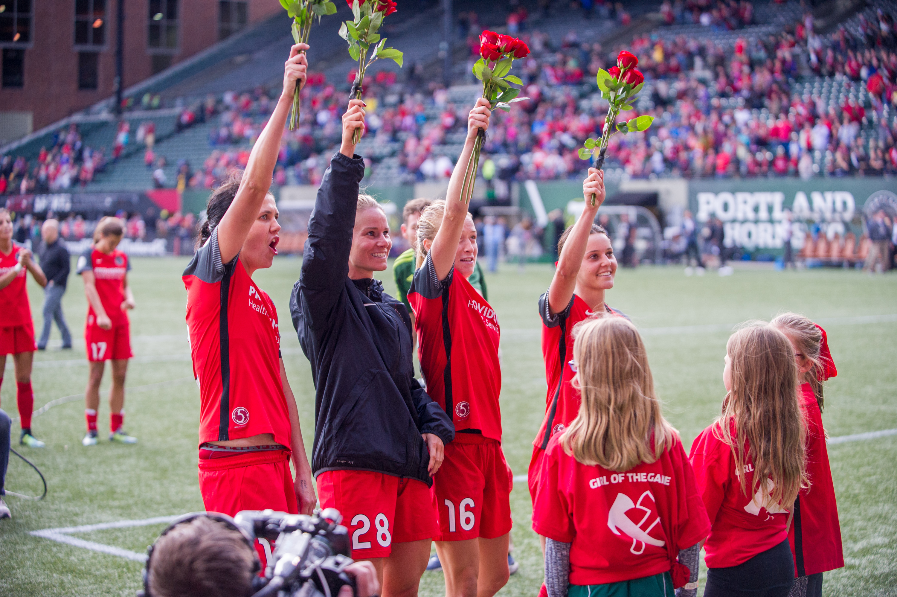 Roses for Goals