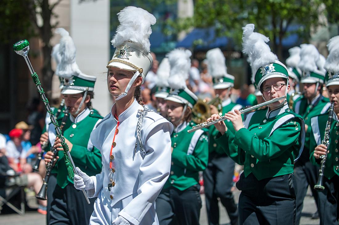 Rose Festival Grand Parade 2015