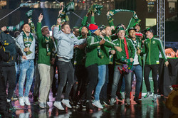 Celebrating the Championship