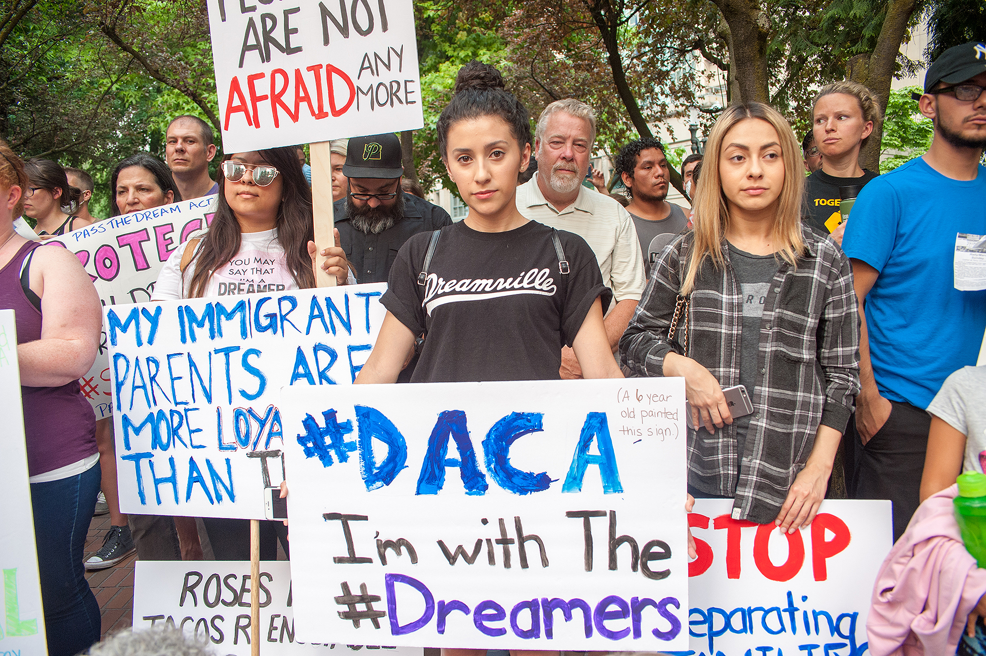 Rally in Support of DACA