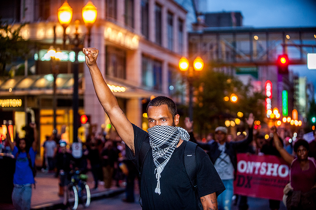 Don't Shoot PDX / BLM Protest