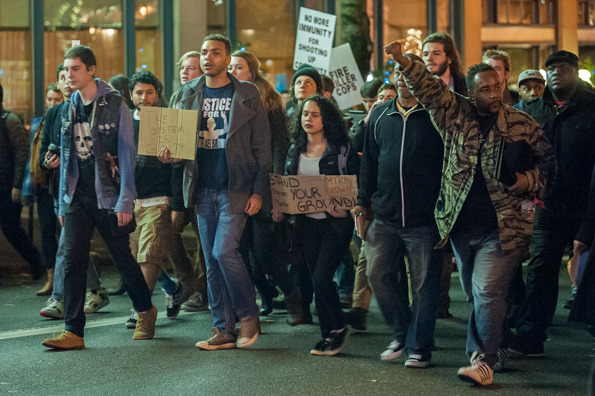 Portland Ferguson March