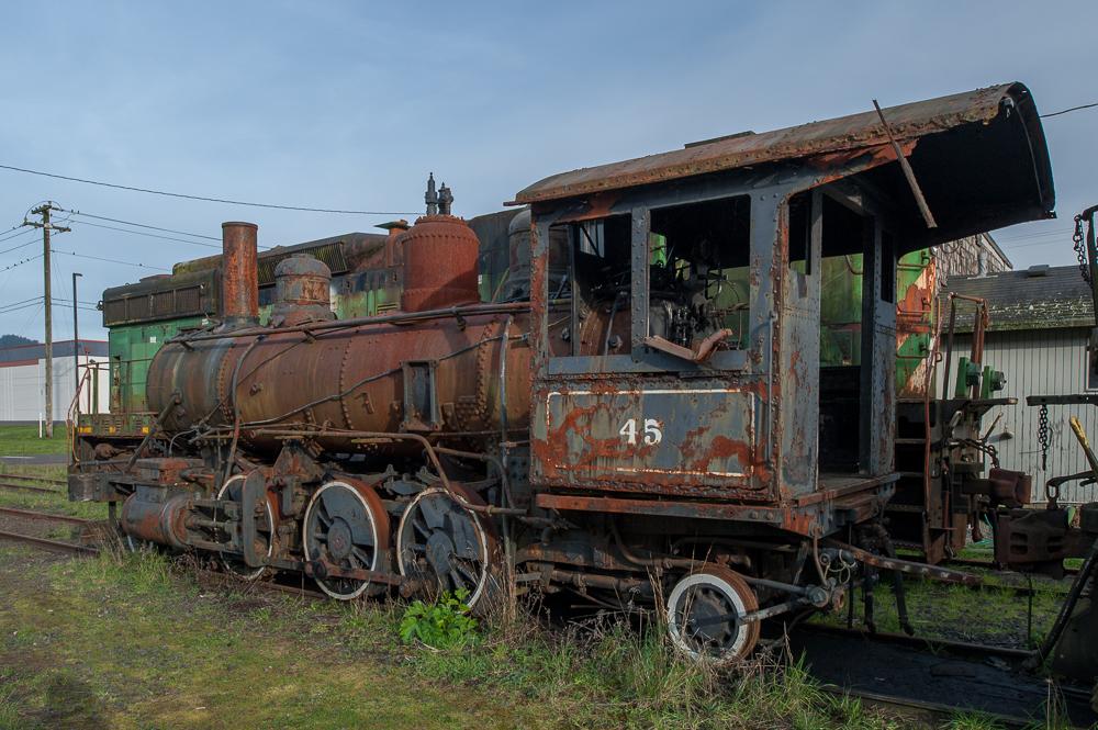 Abandoned Engine