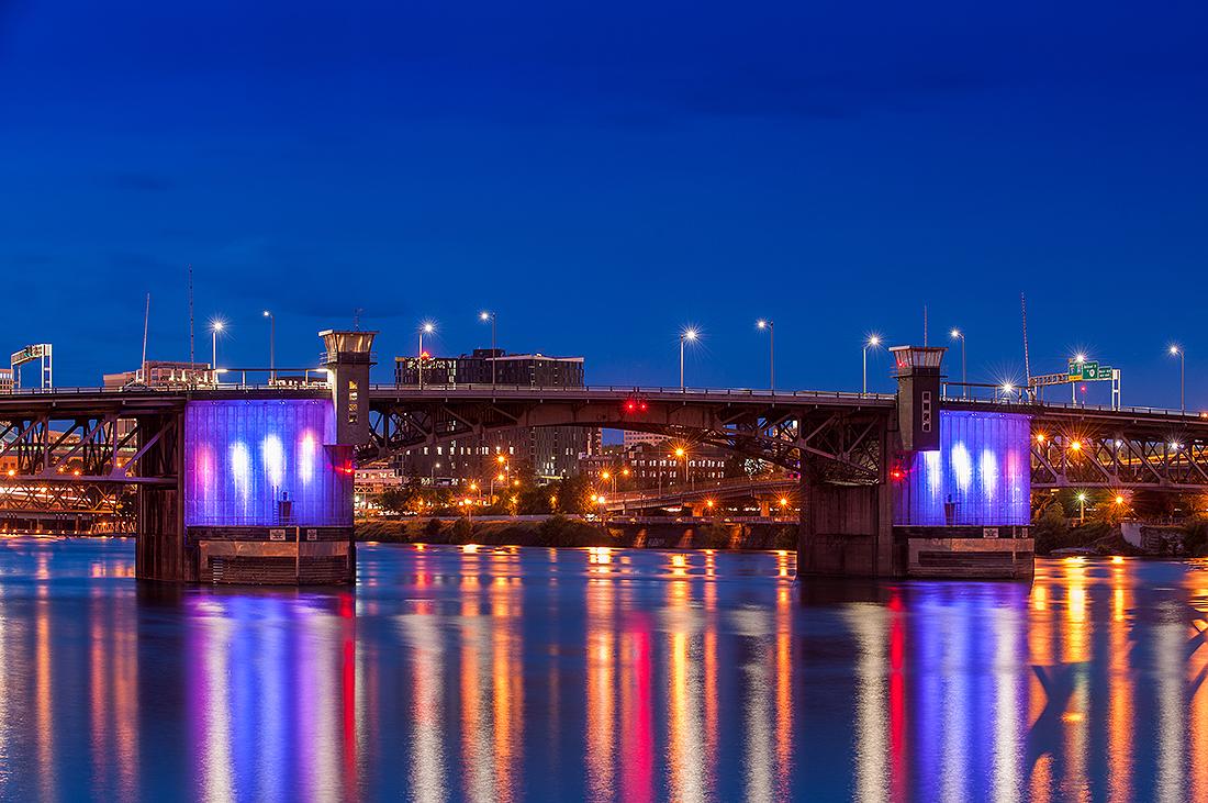 Purple Bridges
