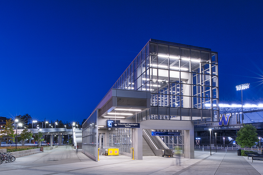 UW Sound Transit Station