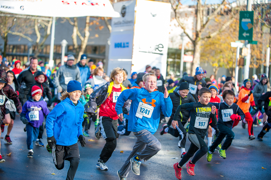 Seattle Kids Marathon 2014