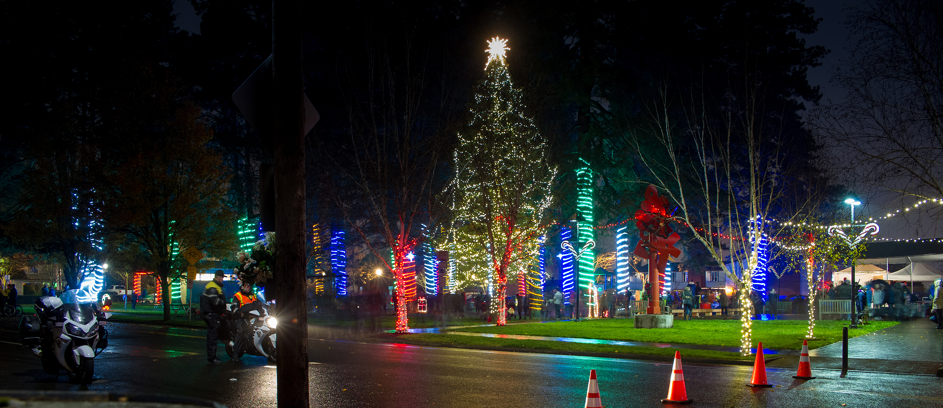 Christmas in Beaverton, OR