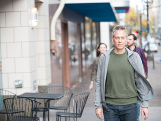 A Portrait session with Portland Filmmaker Brian Lindstrom for Street Roots