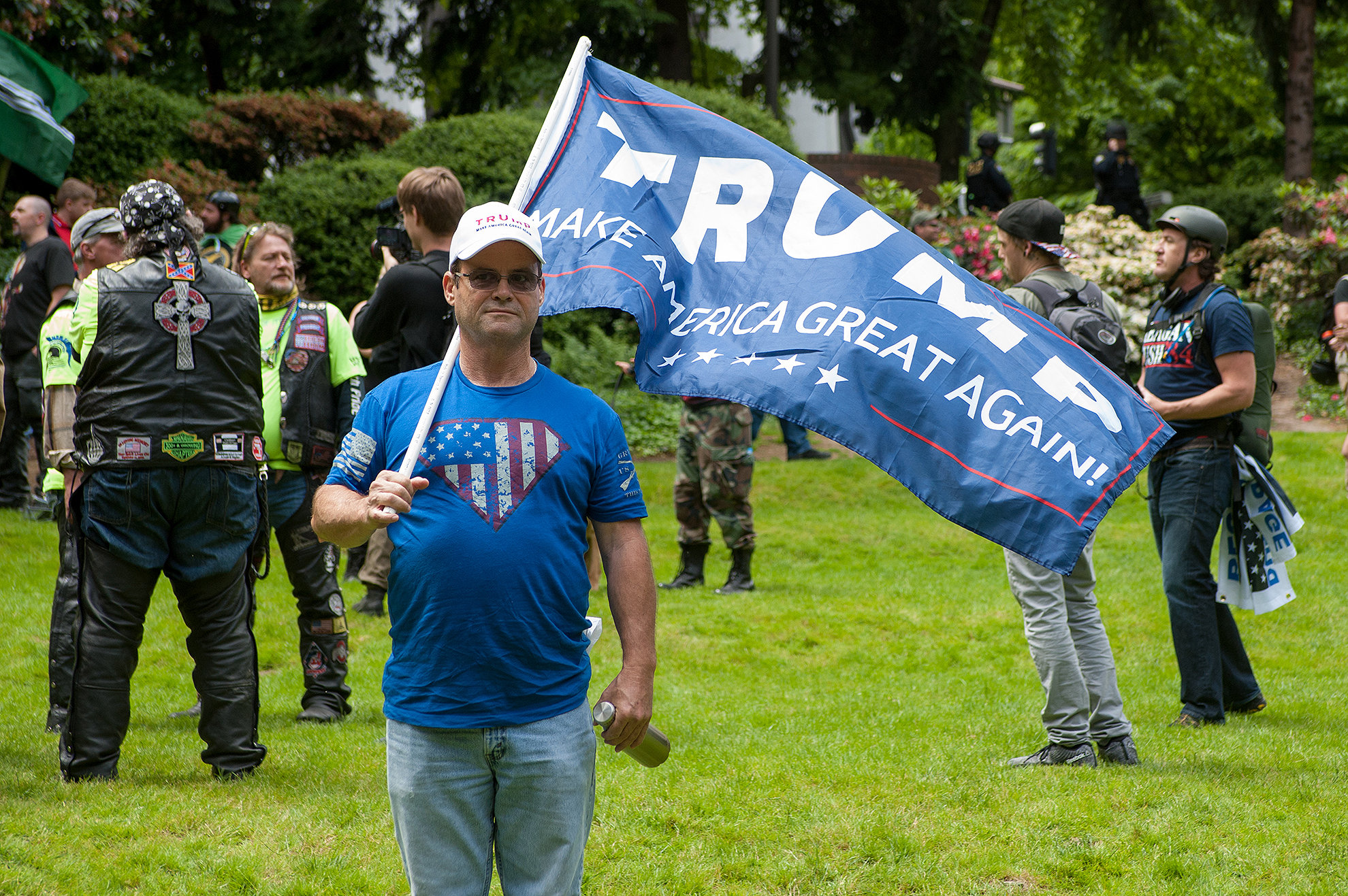 Alt-right Rally in Portland