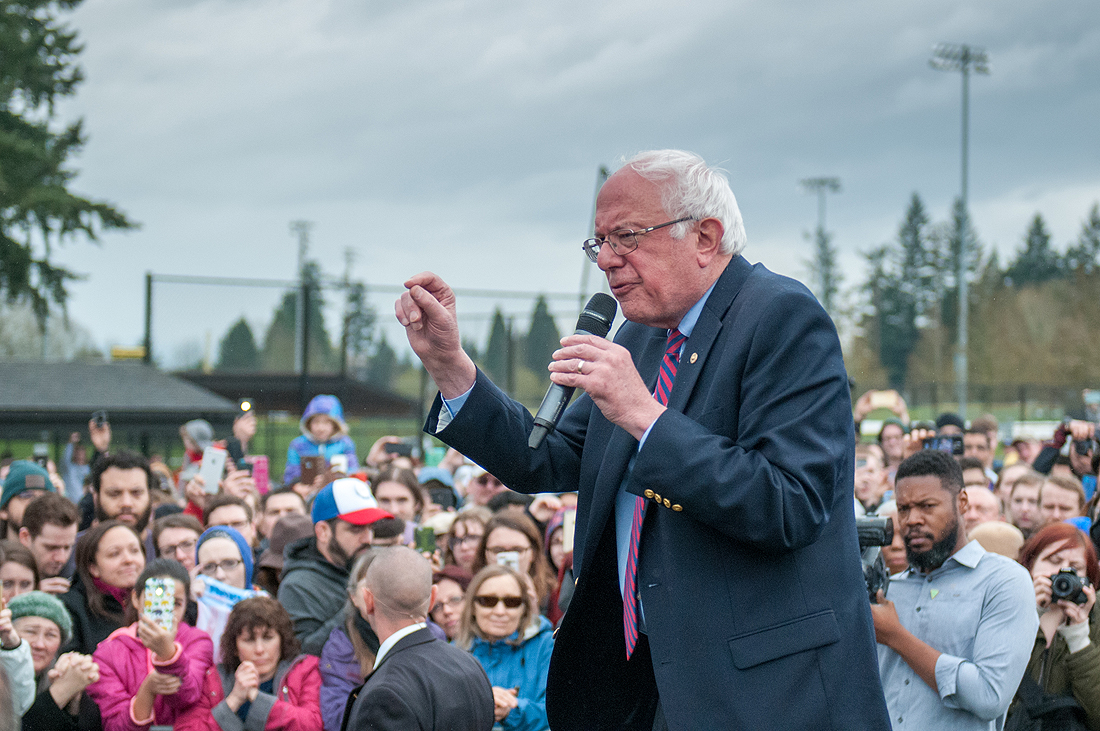 Bernie Sanders in Vancouver, WA