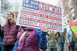 Women's March Against Hate