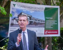 Tigard High School Ground Breaking