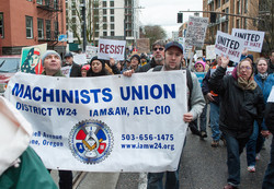 AFL-CIO Rally