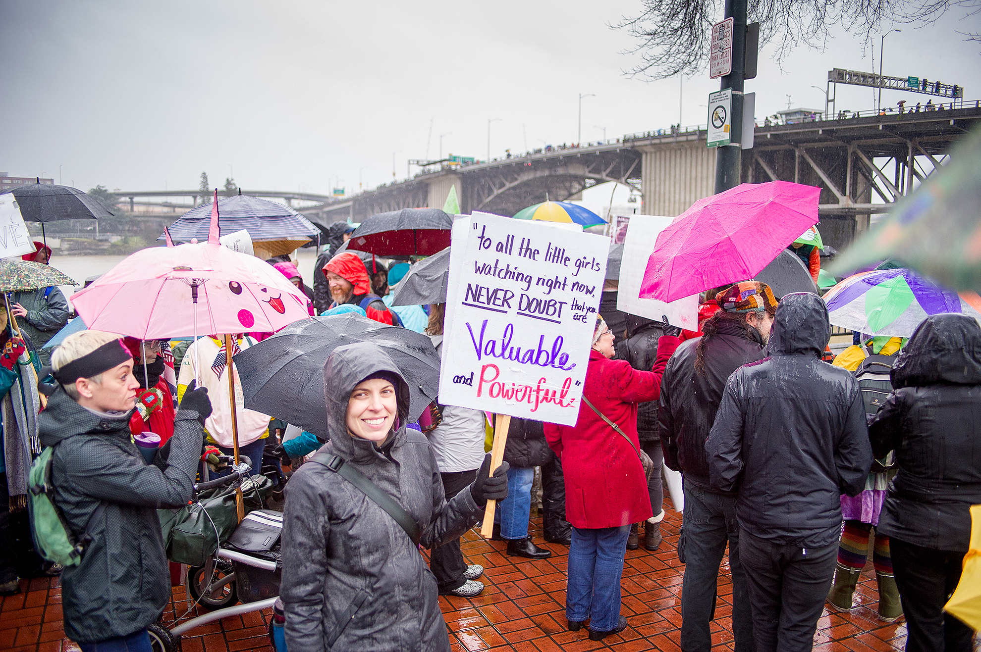 2017 Women's March Portland, OR